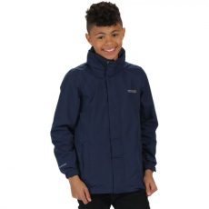 KIDS GREENHILL II WATERPROOF SHELL JACKET WITH CONCEALED HOOD MIDNIGHT