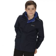 KIDS HURDLE WATERPROOF REFLECTIVE HOODED JACKET