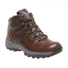 Bainsford Hiking Boots Chestnut Alpine Purple