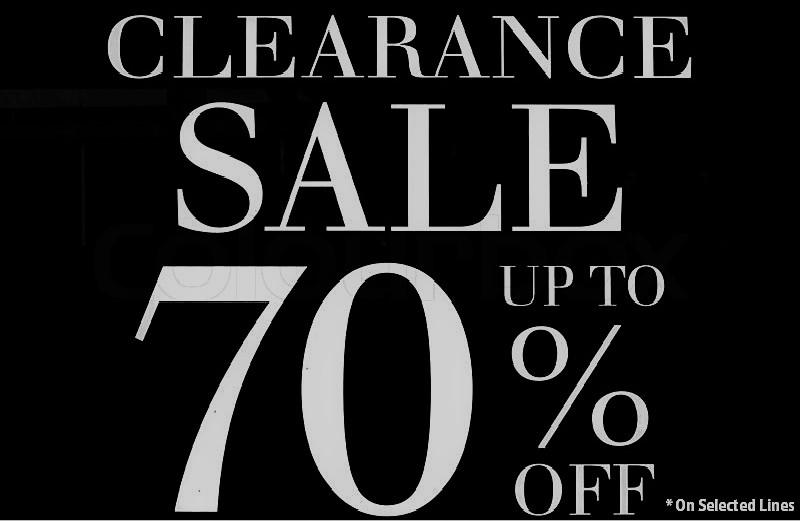 Clearance-Blacke